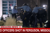 Two Ferguson police officers shot overnight