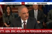Holder: Ferguson cop shooter a 'damn punk'