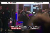 Manhunt underway after Ferguson police ambush