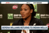 Serena Williams courts Indian Wells