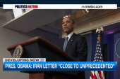 Obama on letter: 'I'm embarrassed for them'