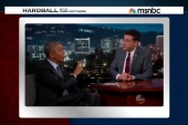 Pres. Obama laughs off 'birthers' with Kimmel