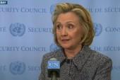 Debate over 'trust' haunts Hillary Clinton