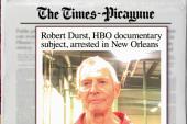 Murder suspect Robert Durst arrested