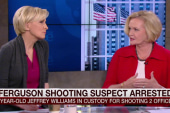 McCaskill: Shooter not part of protest...
