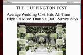 Average wedding costs hit record high