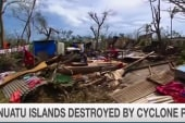 Devastating cyclone rips through Vanuatu