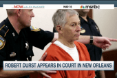 Durst 'broke out into a grin' at court