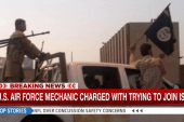 US Air Force mechanic charged with trying...