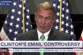 Boehner to Hillary Clinton: Turn over your...