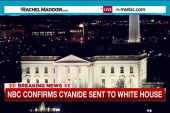 Cyanide detected in letter to White House