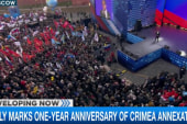 Rally marks anniversary of Crimea annexation