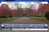 No one seemed 'surprised' by frat suspension