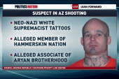 Alleged supremacist arrested in AZ shootings
