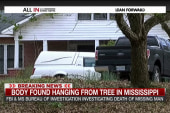 Body found hanging from tree in Mississippi
