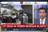 Yemen attack: Blood 'running like a river'