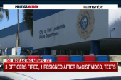 FL officers linked to racist texts, video
