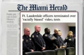 Fla. police officers fired after racist...