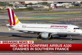 Passenger plane crashes in France