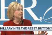 Hillary Clinton hits the reset button