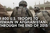 US troops to stay in Afghanistan through 2015