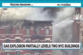 Explosion destroys several buildings in NYC