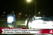 Shocking dash cam video shows brutal arrest