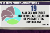 DEA agents allegedly had 'sex parties' abroad