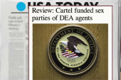 Report: DEA had drug-funded sex parties