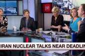 Iran nuclear talks near deadline