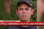 Report: Germanwings co-pilot hid illness