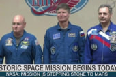 NASA: Soyuz launch a 'stepping stone' to Mars
