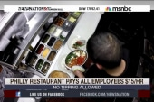 PA restaurant pays employees $15 per hour