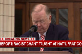 Report: Racist chant learned at national...