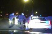 Motorist struck in head 16 times by police