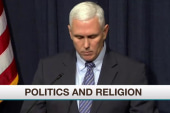 Gov. Pence signs 'religious freedom' bill