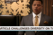 Deadline article challenges diversity on TV