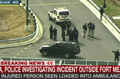 Police investigate incident outside Ft. Meade
