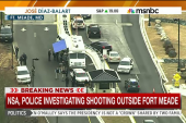NSA investigating shooting outside NSA
