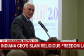 Indiana CEOs slam Pence over religious...