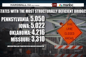 'Structurally deficient' bridges on the rise