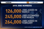 Slowdown in job growth