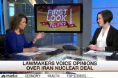 Lawmakers weigh in on nuclear deal