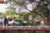 Police waited seven hours in Kenya attack