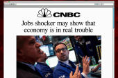 Stock market opens after jobs report