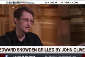 Edward Snowden faces toughest interview yet