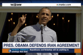 Obama defends 'good deal' with Iran