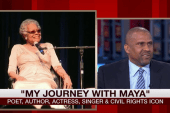 A lifelong friendship with Maya Angelou