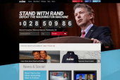 Rand Paul launches 2016 campaign website