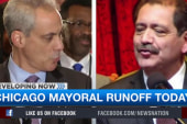 Chicago Mayor Emanuel prepares for runoff
